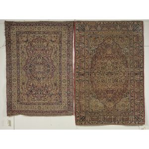 Two Kerman Rugs
