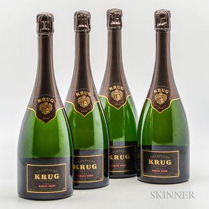 Krug Brut 1996, 4 bottles