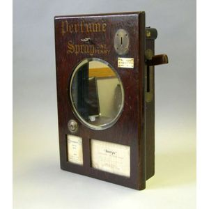 English Coin-Operated Perfume Dispenser