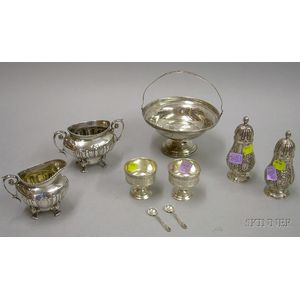 Nine Assorted Silver Items