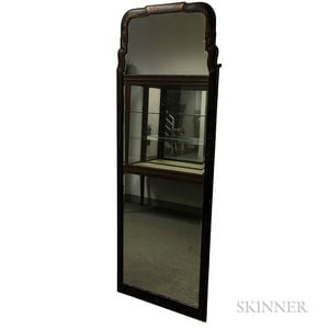 Queen Anne-style Japanned Dressing Mirror