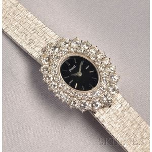 18kt White Gold and Diamond Wristwatch, Piaget
