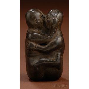 Pre-Columbian Pottery Erotic Couple
