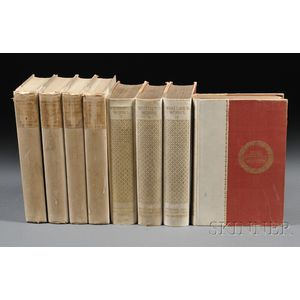Literary Sets, Eighteen Volumes: