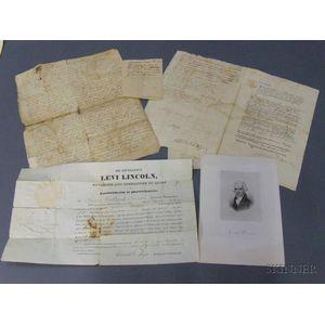 Six 18th Century Documents