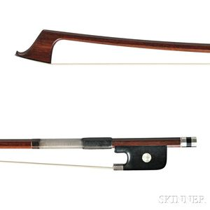 Silver-mounted Violoncello Bow, Anders Halvarson, After F.X. Tourte