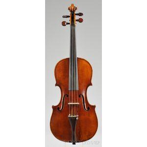 Saxon Violin, c. 1860
