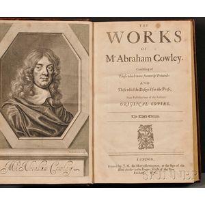 Cowley, Abraham (1618-1667)