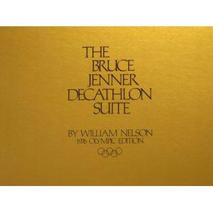 The Bruce Jenner Decathlon Lithograph Suite Portfolio
