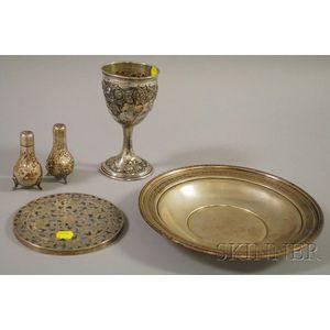 Group of Sterling Tableware