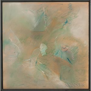 Peter Golfinopoulos (New York, b. 1928)      Untitled (Abstraction)