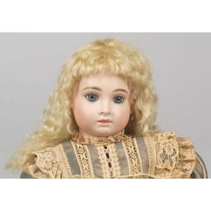 Reproduction H Bisque Head on Jumeau Body