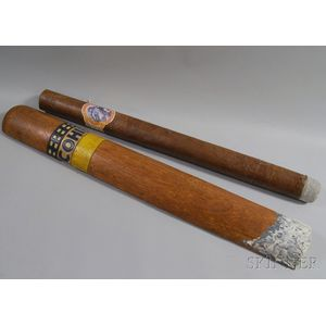 Two Cigar Trade Signs