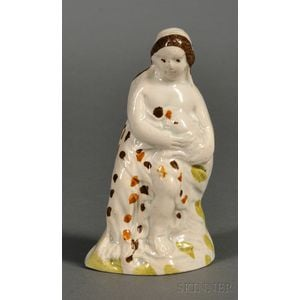 Small Pratt-type Staffordshire Pearlware Figure