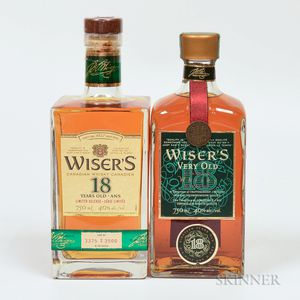 Mixed Wisers, 2 750ml bottles