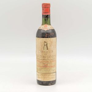 Chateau Latour 1962, 1 bottle