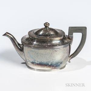 Woolley Sterling Silver Teapot