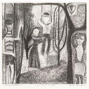 Will Barnet (American, 1911-2012)      Memory of Childhood