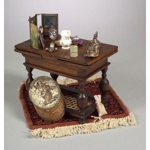 Accessories and Table for French Fashion Doll