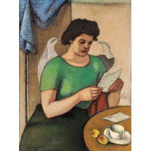 Simkha Simkhovitch (Russian/American, 1893-1949)      The Letter