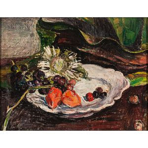 Continental School, 20th Century      Still Life with Fruit