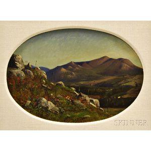 Frederick Williams (American, 1829-1915)      Mountain Vista