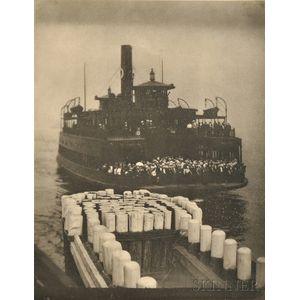 Alfred Stieglitz (American, 1864-1946)      The Ferry Boat