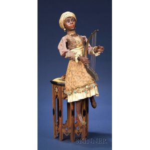 Gustave Vichy Automaton of a Moroccan Harpist