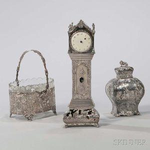Three Continental Silver Items