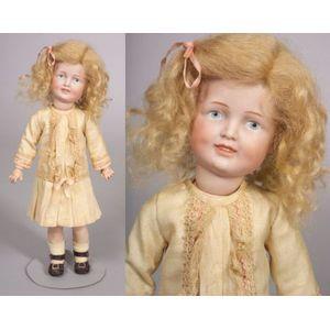 Simon Halbig Smiling 151 Character Girl Doll