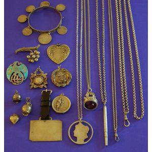 Group of Silver Jewelry and Accessories