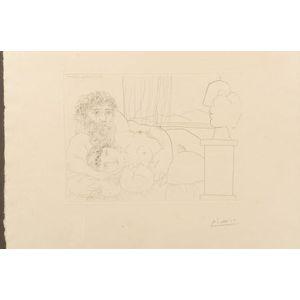 Pablo Picasso (Spanish, 1881-1973)    Le Repos du Sculpteur, I