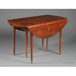 Directoire Mahogany Extension Dining Table