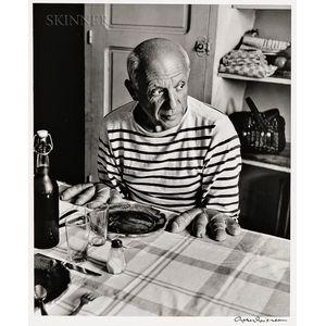 Robert Doisneau (French, 1912-1994)      Les pains de Picasso