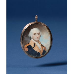 Portrait Miniature of George Washington