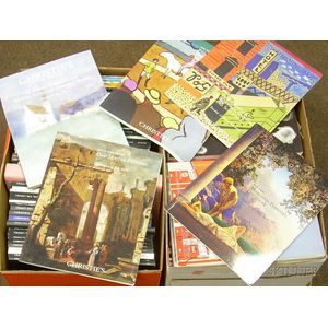 Two Boxes of Auction Catalogues, including Christies.