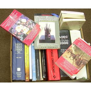 Grouping of Art Reference Books and Art Indexes.