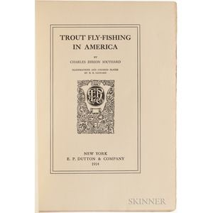 Southard, Charles Zibeon (d. 1925) Trout Fly-Fishing in America  , Signed Copy.