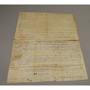 Two 1832 U.S. Land Grants