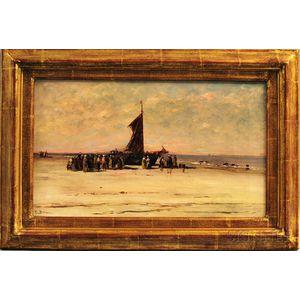Edward Burrill (American, 1835-1913)      Return of the Fishing Fleet.