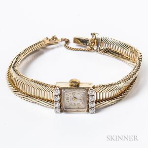 Shulz 14kt Gold and Diamond Lady