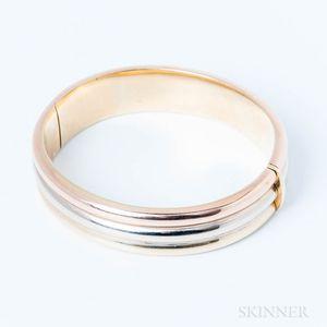 14kt Tricolor Gold Bracelet