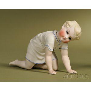 Kling Bisque Crawling Boy