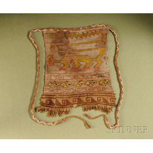 Large Pre-Columbian Woven Bag
