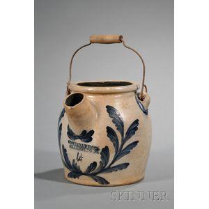 Cobalt-decorated Stoneware Batter Jug