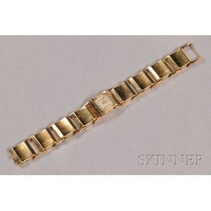 Retro 14kt Gold Wristwatch