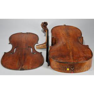 English Violoncello, c. 1780, Banks School