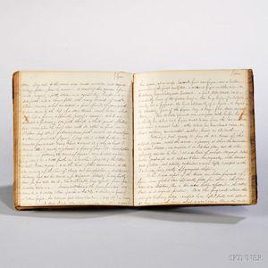 Travel Journal, 1865.