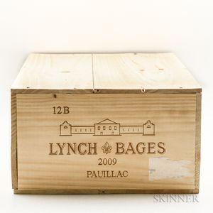 Chateau Lynch Bages 2009, 12 bottles (owc)