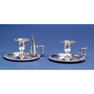 Pair of George III Silver Chambersticks